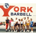 Joe Weider's Muscle & Fitnesss Camp Staff 1986 - York brought us toys for the summer!
