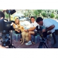1998 - Interviewing Cory Everson at her home for Naturaly Fit TV