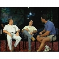 1998 - Interviewing the Alexis Bros from Cirque du Soleil on the Mystere stage for Naturaly Fit TV