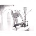1999 - Between takes, Bowflex Infomercial update 1999